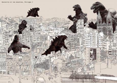Marseille et les monstres di Philippe J