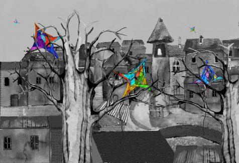 Spicchi di colore in città di Andrea Butera